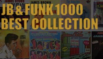 【販売終了】JB & FUNK 1000 BEST COLLECTION~ジェームスブラウンのアルバムを中心に全50枚を千円盤で~