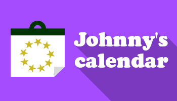 Johnny's Calendars out on MAR 9th!