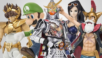 Bandai New Releases in August 2014 are now listed!