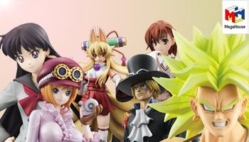 Megahouse New P.O.P & Sailor Moon figures!
