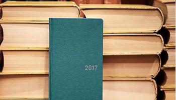 2017年も「ほぼ日手帳」とともに。