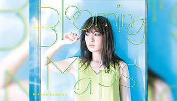 "Mikako Komatsu 3rd album ""Blooming Maps"" with Exclusive Bonus!"