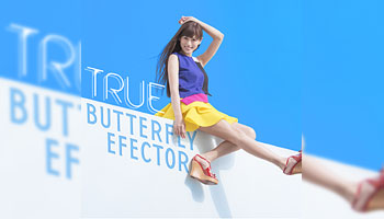 BUTTERFLY EFFECTOR / TRUE 特典画像公開