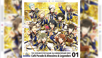 """THE IDOLM@STER SideM"" 3rd anniversary disc 1 with Exclusive Bonus!"
