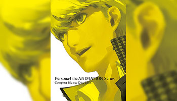Persona4 the Animation Series Complete Blu-ray Disc BOX with Exclusive Bonus!