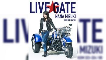 """特典画像公開!水樹奈々 """"NANA MIZUKI LIVE GATE"""" Blu-ray&DVD"""
