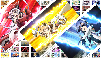 [限定販売]『戦姫絶唱シンフォギアAXZ』 メモリアル缶バッジ 100種予約開始です。