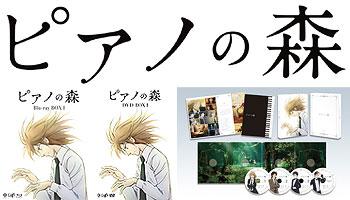 Piano no Mori Blu-ray/DVD BOX with exclusive bonus!