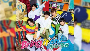 """SparQlew 1st Album """"Bring it on!"""" with exclusive bonus!"""