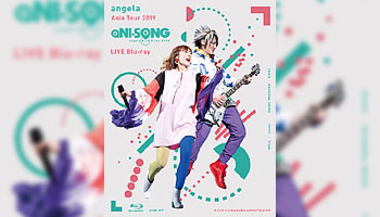 "angela Asia Tour 2019 ""aNI-SONG"" LIVE Blu-ray with exclusive bonus!"