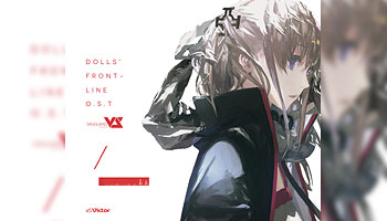 """Dolls Frontline Original Soundtrack"" w/ CDJ bonus picture!"