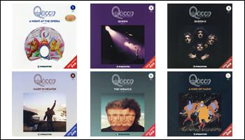 デアゴスティーニ「クイーン・LPレコード・コレクション」一覧まとめ(180g重量盤レコード)