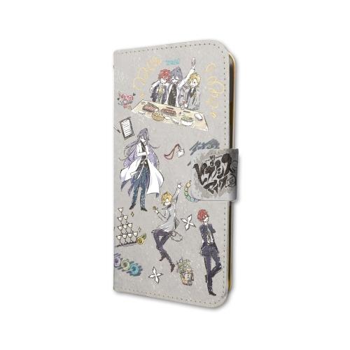 cec56b016e 手帳型スマホケース iPhone 6 / 6S / 7 / 8 兼用 ヒプノシスマイク -Division Rap Battle- 03 麻天狼  (グラフアートデザイン) グッズ - Neowing