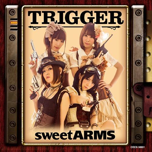 动漫音乐,[140730] sweet ARMS 1stアルバム「TRIGGER」(320K)