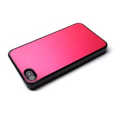 icover iPhone4/4S用ケース INMOLD CARD MIRROR レッドAS-IP4CM-BKR
