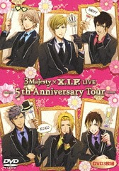 DVD「3 Majesty × X.I.P. LIVE -5th Anniversary Tour-」 [通常版]