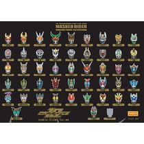 平成 仮面ライダー10周年記念 マスクピンバッジコレクション / フィギュア・ドール