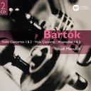 バルトーク  ヴァイオリン協奏曲第1番 第2番 ヴィオラ協奏曲