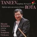 タニェエフ   交響曲第4番、ロータ   交響曲第4番
