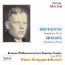 ベートーヴェン   交響曲 第2番 ニ長調 Op.36、ブラームス   交響曲 第4番 ホ短調 Op.98