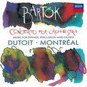 バルトーク  管弦楽のための協奏曲、弦楽器と打楽器とチェレスタのための音楽