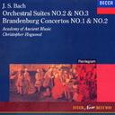 J.S.バッハ  管弦楽組曲 第2番 & 第3番、ブランデンブルク協奏曲 第1番 & 第2番