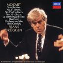 モーツァルト  交響曲第31番「パリ」、第35番「ハフナー」、第36番「リンツ」、他