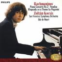 ラフマニノフ  ピアノ協奏曲 第2番、パガニーニの主題による狂詩曲、ヴォカリーズ 作品34の14(コチシュ編)