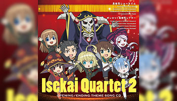 Isekai Quartet 2: Intro & Outro Theme Songs with external bonus!
