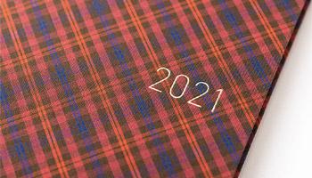 2021年も「ほぼ日手帳」とともに。