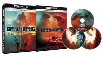 待望の最新作『ゴジラvsコング』Blu-ray&DVD11/3リリース!