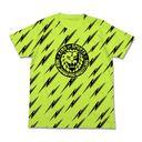 新日本プロレスリング ライオンマーク稲妻tシャツ ライムグリーン M グッズ Neowing